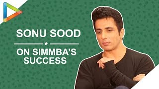 "Sonu Sood: ""Response to SIMMBA was PHENOMENAL, I was OVERWHELMED"" - HUNGAMA"