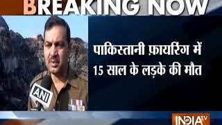 Jammu and Kashmir: Pakistan violates ceasefire in Arnia and RS Pura sector - INDIATV