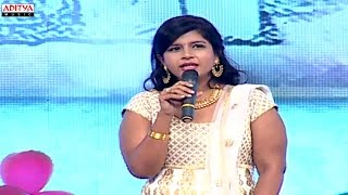 NIkitha Reddy (Nithin Sister) Speech At -  Chinnadana Nee Kosam Audio Launch - ADITYAMUSIC