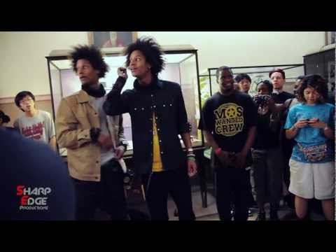 Les Twins Dance Battle Circle World Of Dance New York 2011 pt.2 Sharp edge