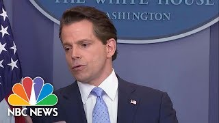 Anthony Scaramucci Hints At How He'll Deal With Donald Trump's Tweets | NBC News - NBCNEWS