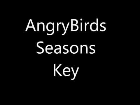 Angry Birds Seasons Key For PC
