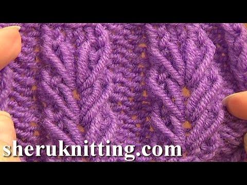 Wheat Ear Loop Stitch Pattern Tutorial 6 Free Knitting Stitch Patterns For Beginners