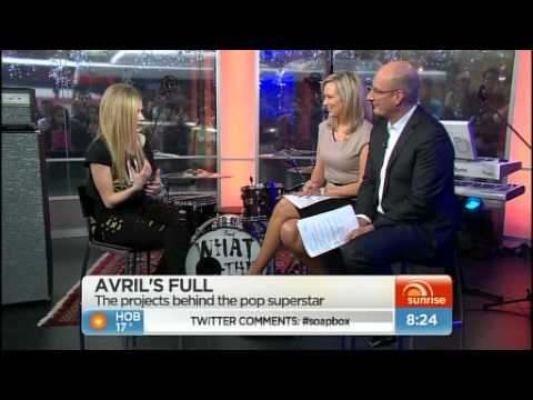 Avril Lavigne Interview (Sunrise 2011)