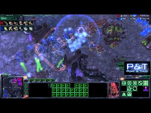 (HD486) Thud vs InCepTioN - ZvP - Les joies du ladder#1 - Starcraft 2 replay [FR]