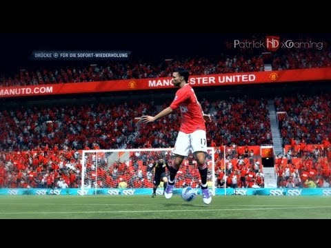 Fifa 12 | Power Backheel Shot Tutorial | +Controller Animation | HD