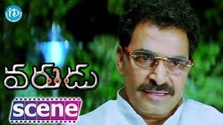 Varudu Movie Scenes - Allu Arjun Tells About Swetha Love To Sayaji Shinde || Suhasini - IDREAMMOVIES