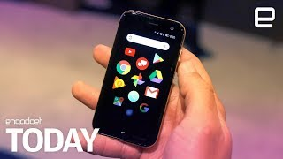 Palm is back, and it built a tiny smartphone sidekick | Engadget Today - ENGADGET