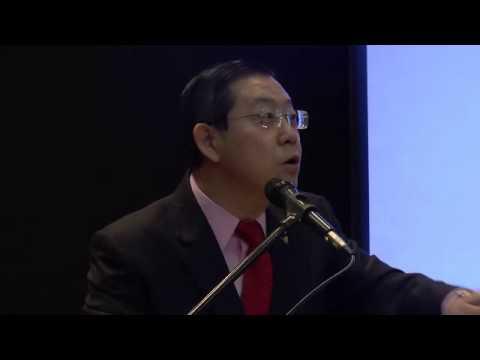 槟州政府制度化拨款模拟支票移交仪式