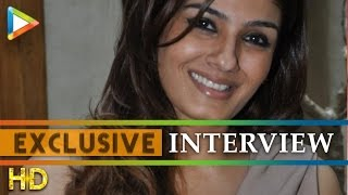 """Media Doesn't Let You Die Out"": Raveena Tandon - HUNGAMA"