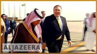 🇸🇦 🇺🇸 Pompeo's Middle East tour: Yemen, Khashoggi, Gulf blockade, Iran - ALJAZEERAENGLISH