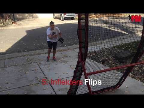 6 Baseball fielding drills you can do in your driveway or back yard