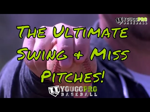 How to STRIKE OUT more batters by developing The ULTIMATE Swing & Miss Pitches!