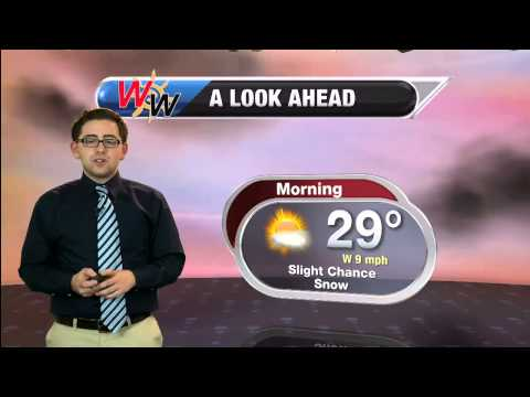 Thursday Afternoon January 29th 2015 Forecast