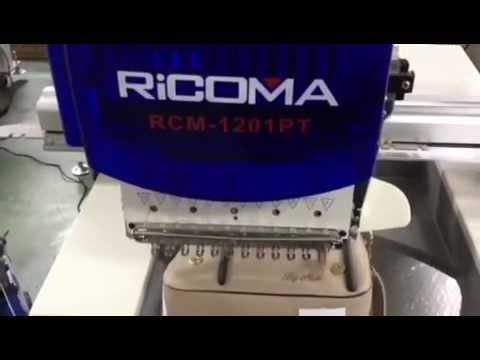 สาธิต จักรปัก จักรปักคอมพิวเตอร์ ปักกระเป๋า RiCOMA by www.SKTthai.com
