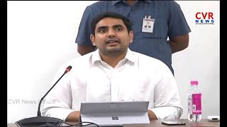 AP Minister Nara Lokesh Serious Comments Over KTR Meet Ys Jagan l CVR NEWS - CVRNEWSOFFICIAL