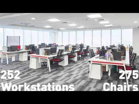 Các mẫu layout tổng thể văn phòng đẹp nhất năm 2016