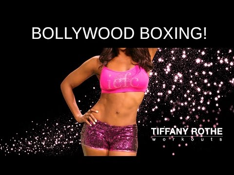 Bollywood Boxing! This great boxing/belly dancing workout will burn fat like never before.