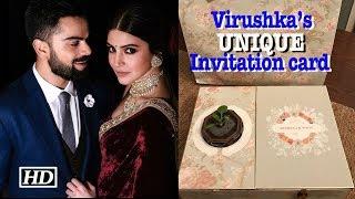 Virat- Anushka's UNIQUE Invitation card for Reception - BOLLYWOODCOUNTRY
