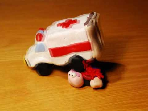 The Demented Ambulance. CLAYMATION TIME!!