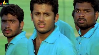 Sye Movie Scenes | Nithin Vs Shashank Batch Rugby Match | Sri Balaji Video - SRIBALAJIMOVIES