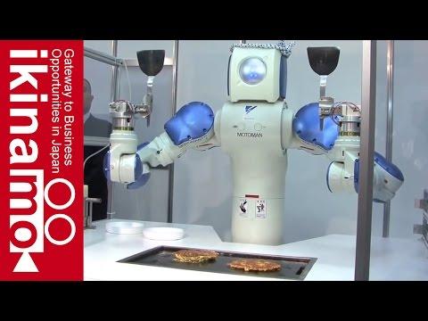 Robot that makes okonomiyaki fully automatically #Okonomiyaki Robot