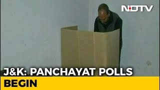 Voting For First Phase Of Jammu And Kashmir Panchayat Polls Underway - NDTV