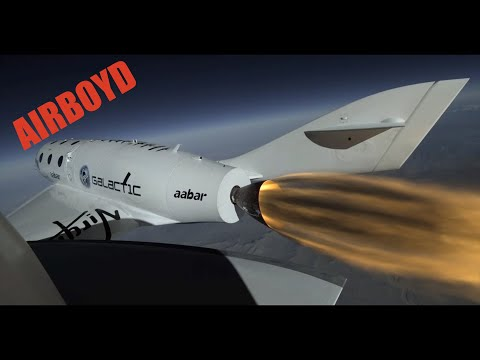 Virgin Galactic SpaceShipTwo First Powered Flight
