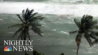 Category 4 Hurricane Maria Takes Aim At Puerto Rico, Virgin Islands | NBC Nightly News - NBCNEWS