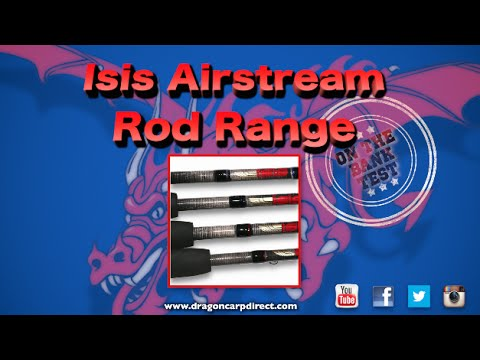 Introducing the Isis Aistream rod range - ideal for carp, bream and roach!