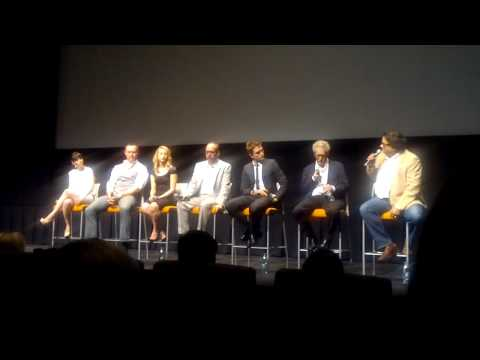 Cosmopolis Toronto Premiere - Q&A with cast at TIFF Bell Lightbox June 4, 2012 - Part 1
