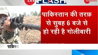 Pakistan violates ceasefire in Poonch, started firing at 6 am - ZEENEWS