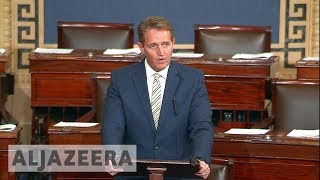 Trump and the Media: Jeff Flake blast Trump in Senate speech - ALJAZEERAENGLISH