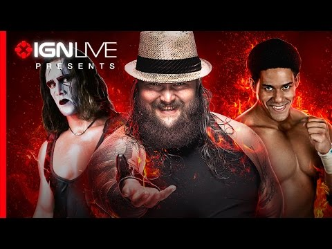 IGN Live Presents: WWE2K15 Roster Reveal