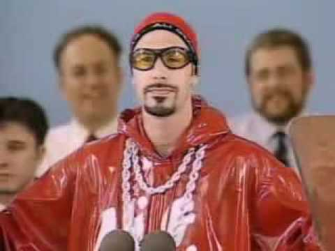Ali G Harvard Speech