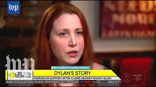 Dylan Farrow's first TV interview, annotated - WASHINGTONPOST