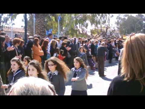Παρέλαση 25ης Μαρτίου 2012 στο Λαύριο