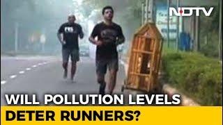 Pollution No Problem For Marathoners - NDTV
