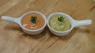 Tartare Sauce and Cocktail Sauce - SANJEEVKAPOORKHAZANA