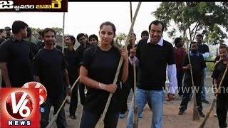 Anil Ambani invites 9 top celebs to participate in Modi Swachh Bharath - V6 Jajjanakare Janaare - V6NEWSTELUGU