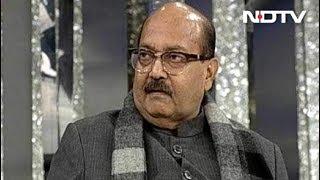 सपा-बसपा का गठबंधन कैश, क्राइम और कास्ट पर आधारित : अमर सिंह - NDTVINDIA