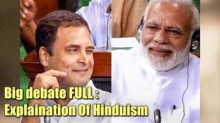Big Debate: Who will explain the meaning of being a Hindu? - ABPNEWSTV