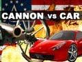 بالفيديو : ماذا يمكن أن يحدث لسيارتك اذا ما أطلقت عليها قذيفة مدفع ؟ !!