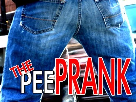 Epic Pee Prank!