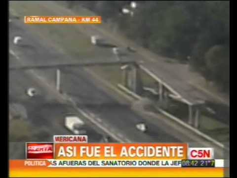 Accidente fatal en Panamericana