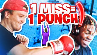 1 MISS = 1 PUNCH w/ ImDavisss *HILARIOUS* nba 2k20