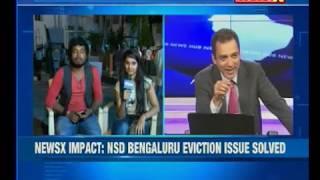 Bengaluru: Protesting students given back NSD premises - NEWSXLIVE