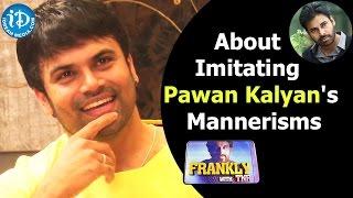 Ashwin Babu About Imitating Pawan Kalyan's Mannerisms || Talking Movies with iDream - IDREAMMOVIES
