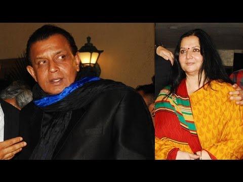 Mithun Chakraborty Scared Of His Wife !