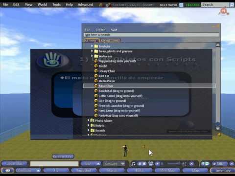 16.- Curso para Emprendedores en Second Life. Linden Scripting Language.